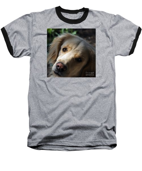 Dog Eyes Baseball T-Shirt