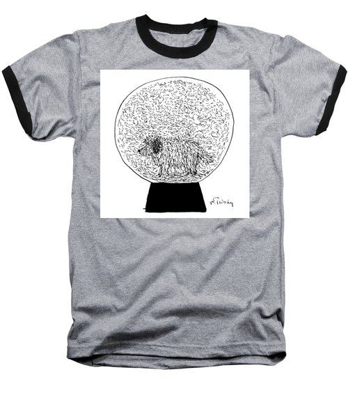 Dog Globe Baseball T-Shirt