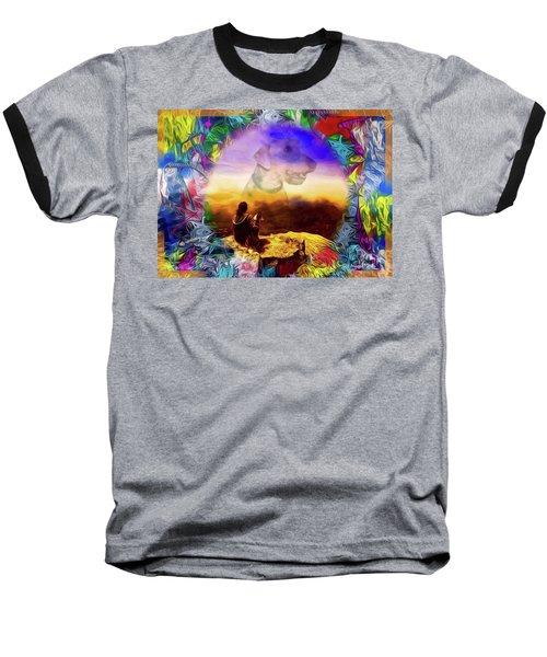 Dog Heaven Baseball T-Shirt