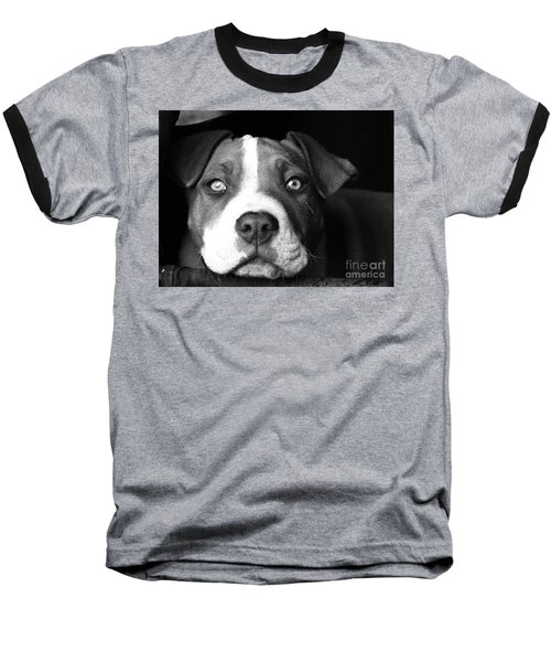 Dog - Monochrome 2 Baseball T-Shirt
