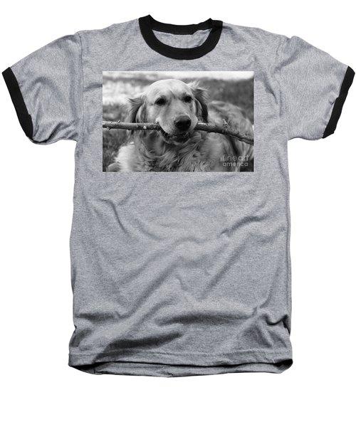 Dog - Monochrome 4 Baseball T-Shirt