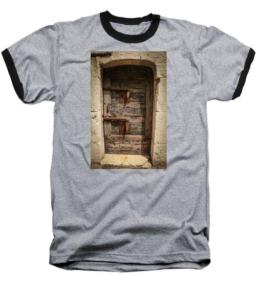 Baseball T-Shirt featuring the photograph Doge's Jail Door by Kathleen Scanlan