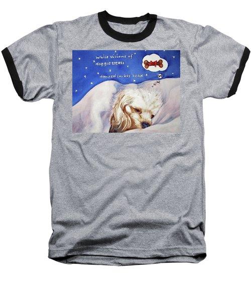 Doggie Dreams Baseball T-Shirt