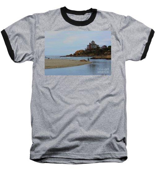 Dogs And Surf Baseball T-Shirt