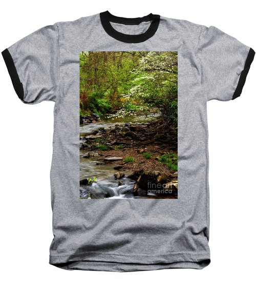 Dogwood At The Bend Baseball T-Shirt
