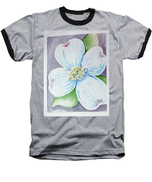 Dogwood Bloom Baseball T-Shirt