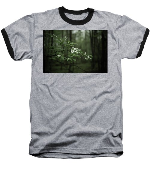 Baseball T-Shirt featuring the photograph Dogwood Branch by Shane Holsclaw