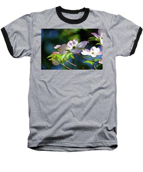 Dogwood Flowers Baseball T-Shirt