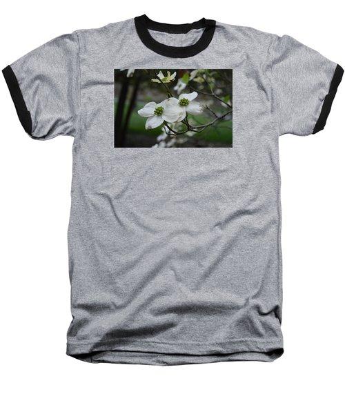 Baseball T-Shirt featuring the photograph Dogwood by Linda Geiger