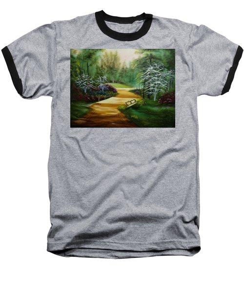 Dogwoods In Springtime Baseball T-Shirt