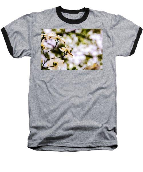 Dogwoods Under The Pines Baseball T-Shirt