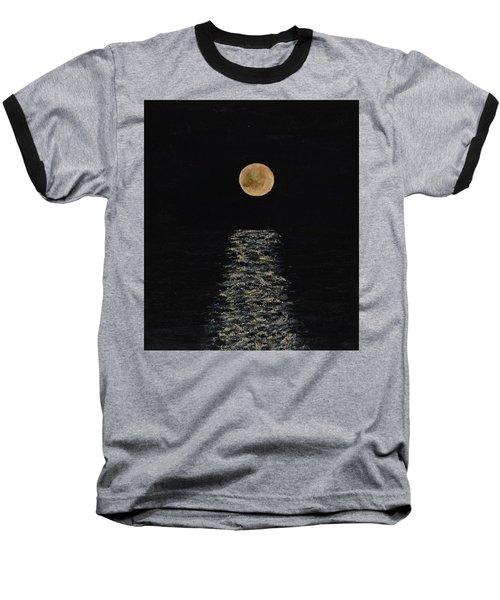 Doha Moonrise Baseball T-Shirt