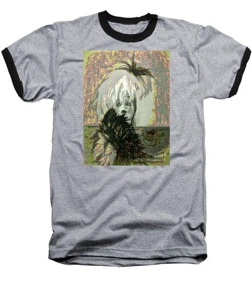 Doll Face  ... Baseball T-Shirt by Chuck Caramella