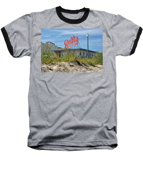 Baseball T-Shirt featuring the photograph Dolles Candyland - Rehoboth Beach Delaware by Brendan Reals
