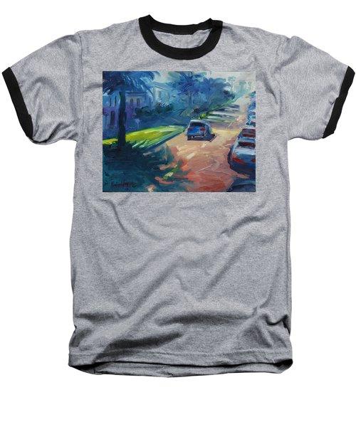 Dolores Street Baseball T-Shirt by Rick Nederlof
