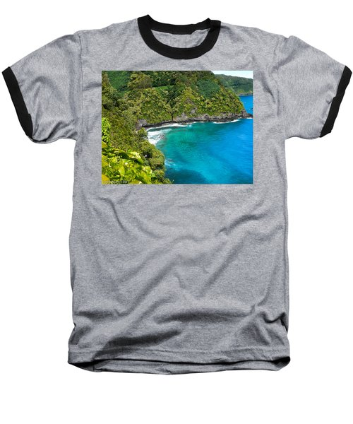Baseball T-Shirt featuring the photograph Dolphin Cove by Debbie Karnes