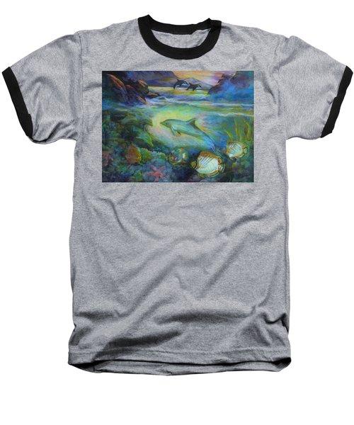 Dolphin Fantasy Baseball T-Shirt