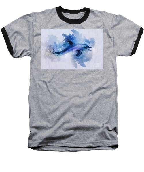 Dolphins Freedom Baseball T-Shirt