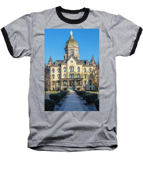 Dome At University Of Notre Dame  Baseball T-Shirt