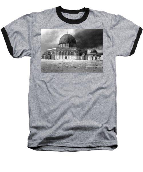 Dome Of The Rock - Jerusalem Baseball T-Shirt