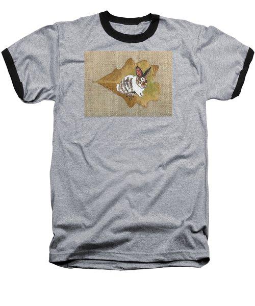 domestic Rabbit Baseball T-Shirt by Ralph Root