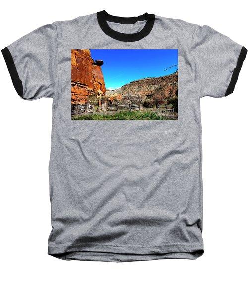 Dominguez Escalante Canyon Colorado II Baseball T-Shirt