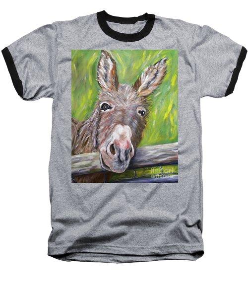 Dominic The Donkey Baseball T-Shirt