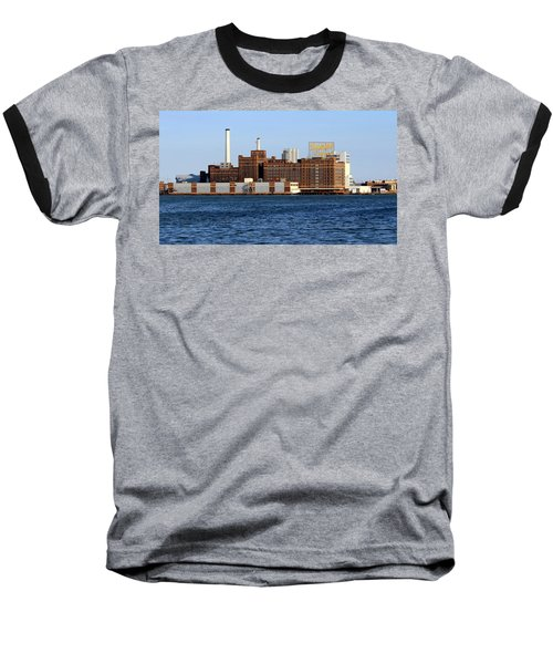 Domino Sugar Baseball T-Shirt by Joseph Skompski