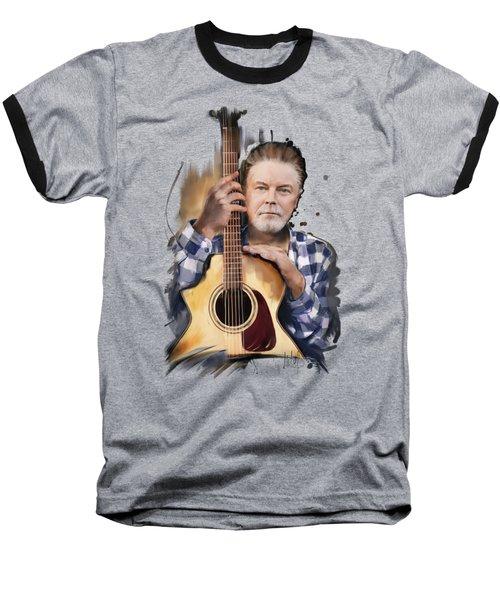Don Henley Baseball T-Shirt by Melanie D