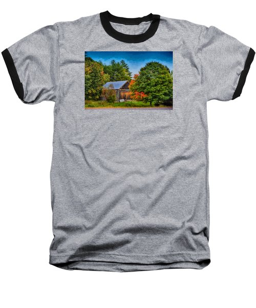 Done With Summer Baseball T-Shirt by Tricia Marchlik