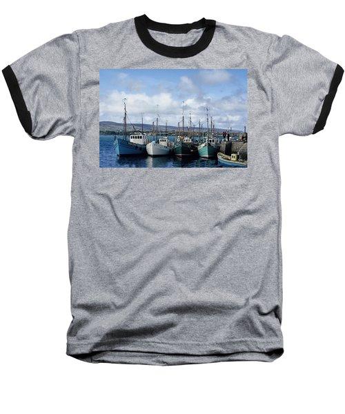 Donegal Fishing Port Baseball T-Shirt