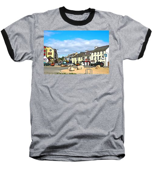 Donegal Town Baseball T-Shirt by Charlie and Norma Brock