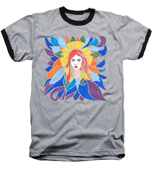 Donna Soul Portrait Baseball T-Shirt