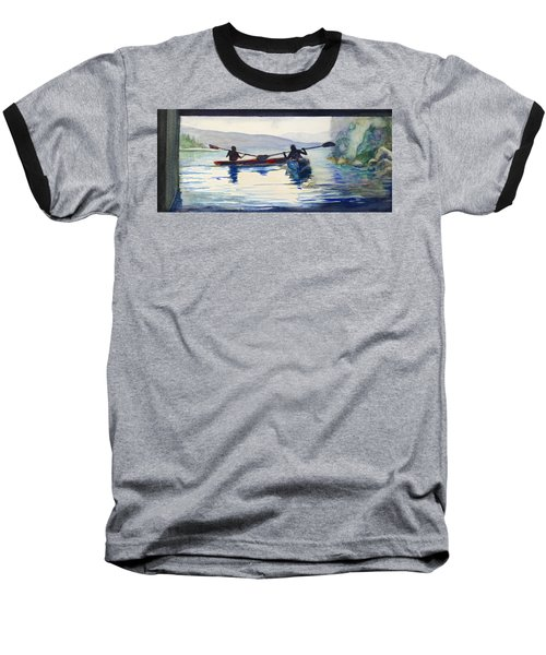 Donner Lake Kayaks Baseball T-Shirt