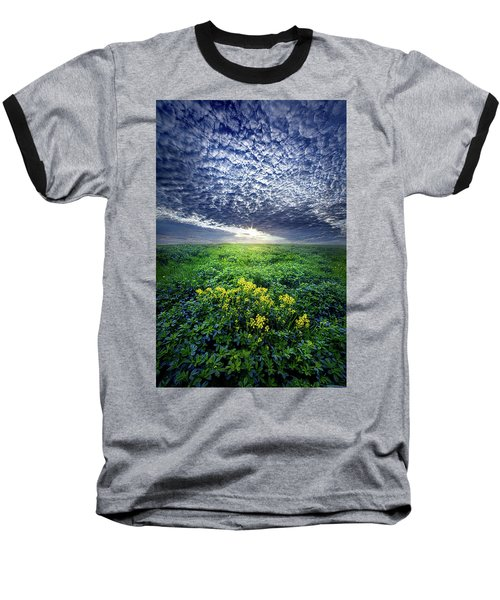 Baseball T-Shirt featuring the photograph Don't Live Too Fast by Phil Koch