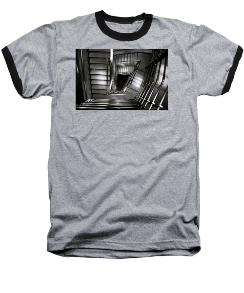 Don't Look Back  Baseball T-Shirt by Cesare Bargiggia