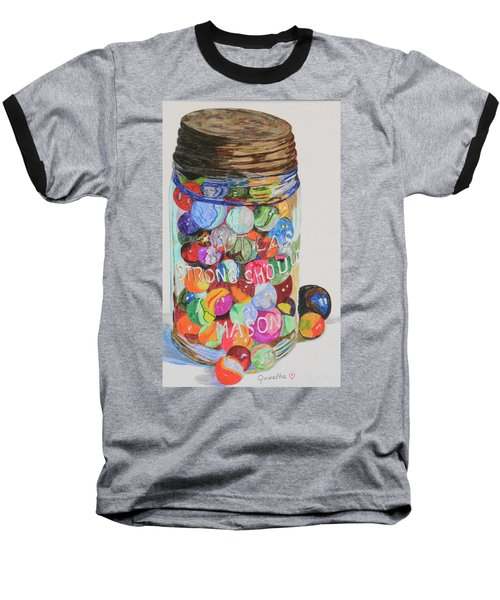 Don't Lose Your Marbles Baseball T-Shirt