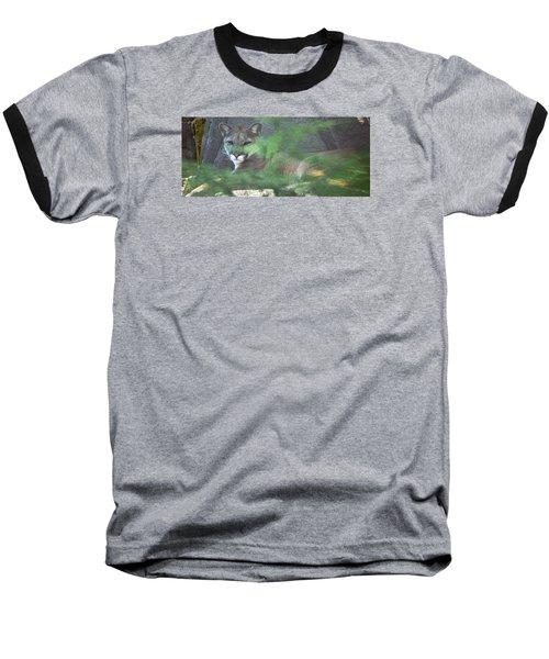 Don't Make A Sound Baseball T-Shirt by Greg Slocum
