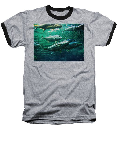 Don't Mess With Bluefin Jack Baseball T-Shirt