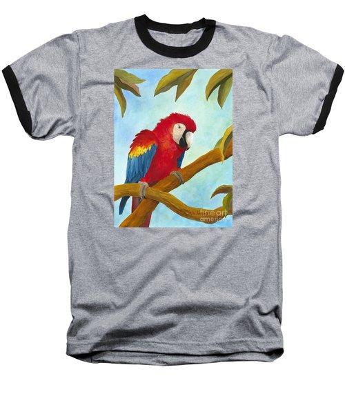 Dont Ruffle My Feathers Baseball T-Shirt by Phyllis Howard