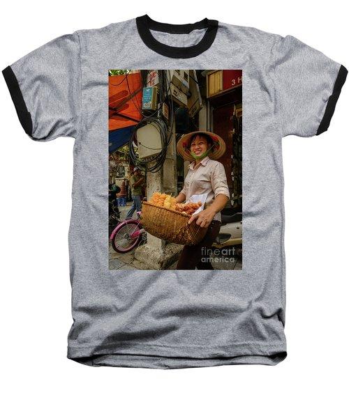 Donut Seller Baseball T-Shirt
