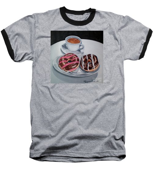 Donuts And Coffee- Donas Y Cafe Baseball T-Shirt