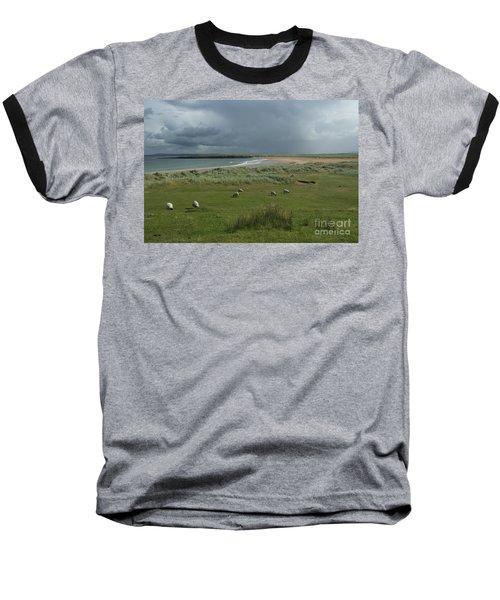 Doogh Beach Achill Baseball T-Shirt
