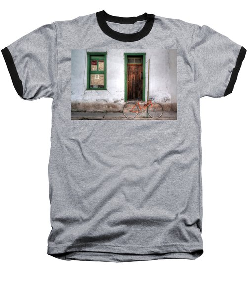 Door 345 Baseball T-Shirt by Lynn Geoffroy