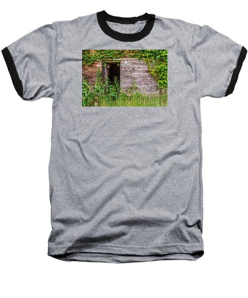 Baseball T-Shirt featuring the photograph Door Ajar by Christopher Holmes