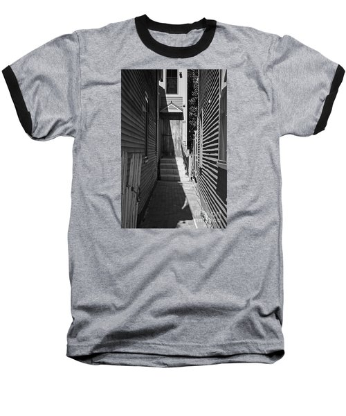 Door In An Alley Baseball T-Shirt by Kevin Fortier