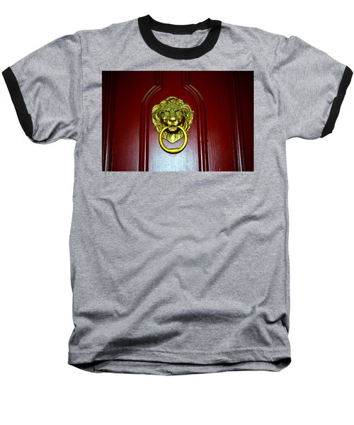 Door Knocker Baseball T-Shirt