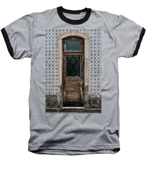 Baseball T-Shirt featuring the photograph Door No 151 by Marco Oliveira