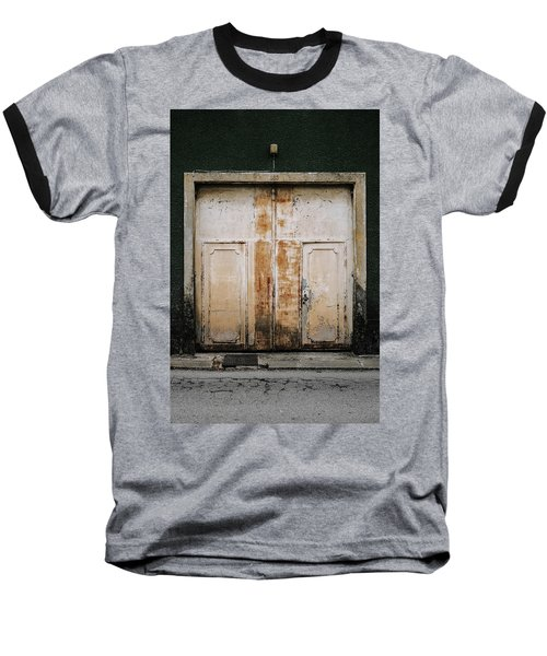 Baseball T-Shirt featuring the photograph Door No 163 by Marco Oliveira