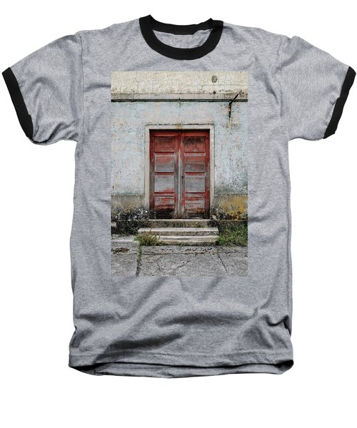 Baseball T-Shirt featuring the photograph Door No 175 by Marco Oliveira